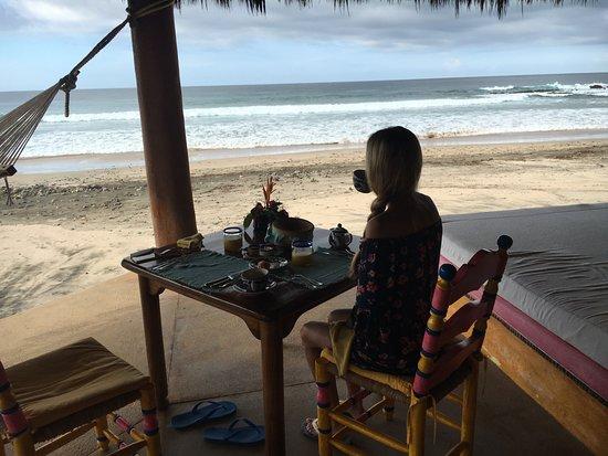 Quemaro, México: Lieu du petit déjeuner