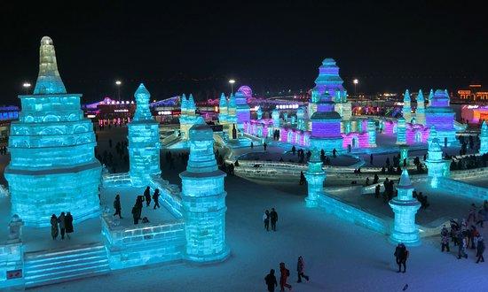 Hong Kong Harbin Ice Festival Day Tour