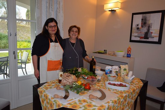 Peccioli, إيطاليا: Arianna & Esther