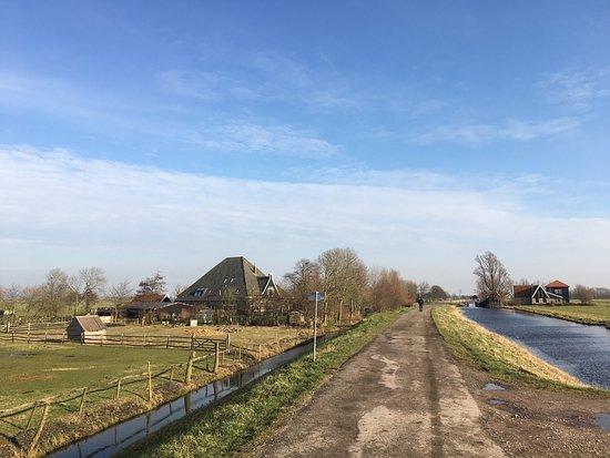 Grootschermer, Países Bajos: Schitterend polderlandschap