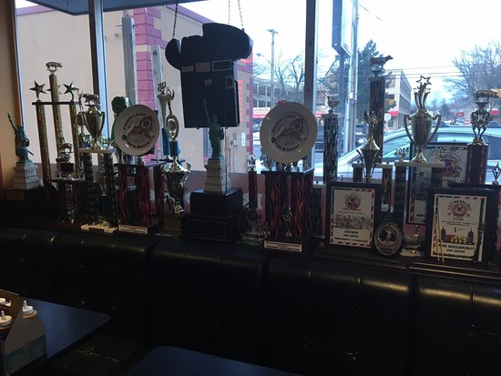 East Rochester, NY: Good Smoke BBQ - more trophies