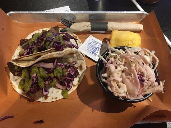"East Rochester, NY: Good Smoke BBQ - ""Austin City Tacos"""