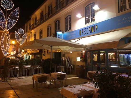 Restaurante O Pescador: 店の外観