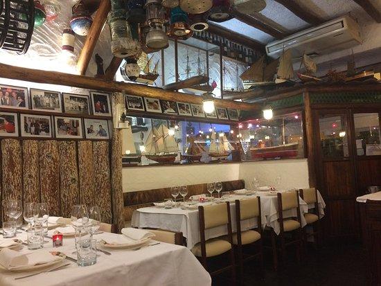 Restaurante O Pescador: 店の内装