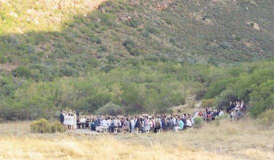 Citrusdal, جنوب أفريقيا: outdoor wedding