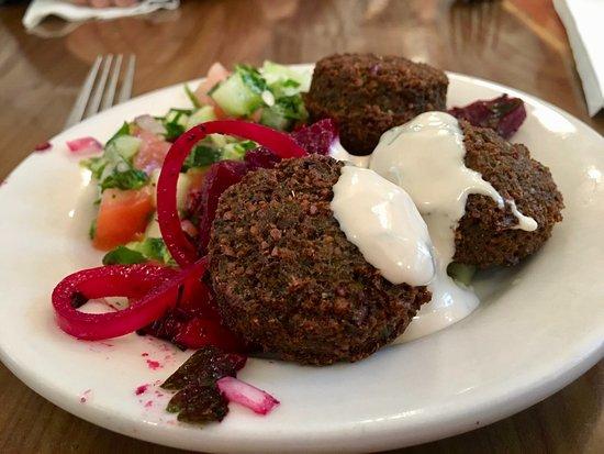 Jewish Museum of Florida - FIU: Kosher Middle Eastern Falafel Plate