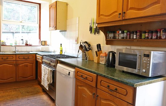Stromeferry, UK: self-catering kitchen