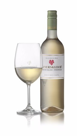 Beyerskloof Tasting Room: Our Chenin Blanc - Pinotage blend will start your tasting with notes of tropical fruit.
