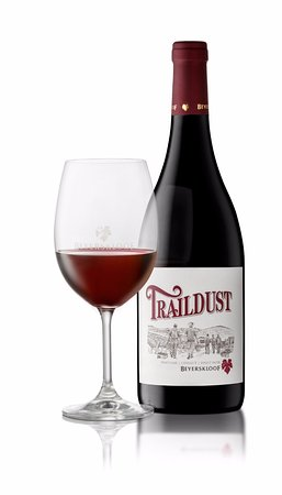 Beyerskloof Tasting Room: The Traildust is the newest Cape Blend to the portfolio and can only be found at the winery.