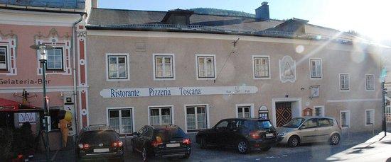Tamsweg, Austria: Aussenansicht Pizzeria Ristorante Toscana