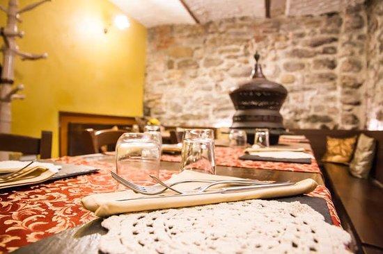 Osteria della Fonte: Sala vecchia