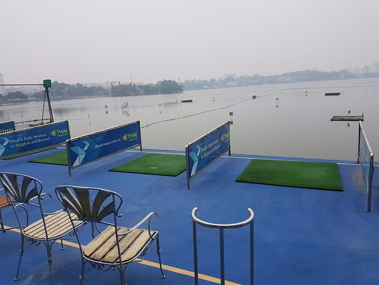 The Hanoi Club Hotel & Lake Palais Residences: The driving range
