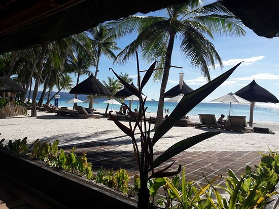 Friday's Boracay: View from the restaurant