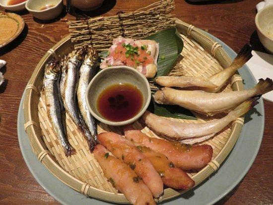 Fukunohana Nihombashi: 魚と鳥の料理