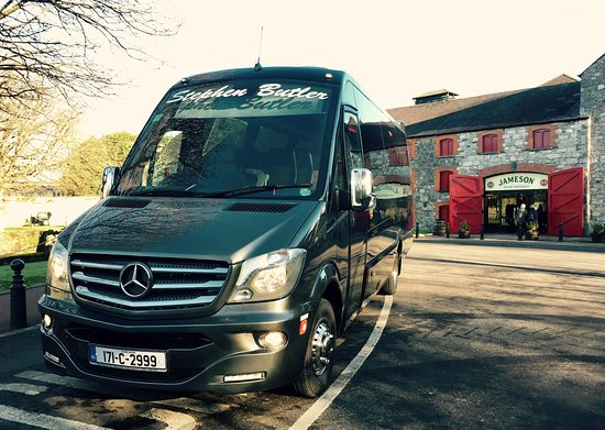 Our Brand new 2017 VIP coach at Midleton Distillery
