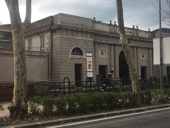 Museo Tecnico Navale della Spezia : Ingresso