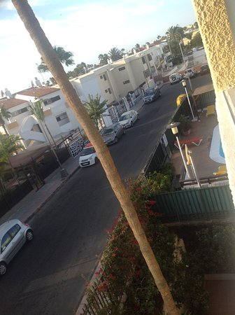 Apartamentos El Cisne : Ausblick vom Balkon
