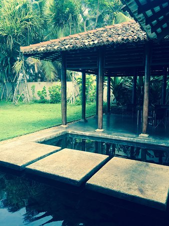 Apa Villa Thalpe: The view form our room/patio area