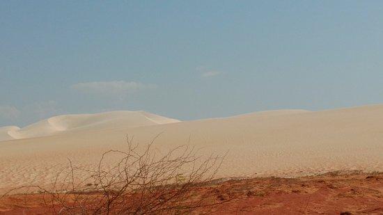 Areia Branca, RN: Entrada das dunas