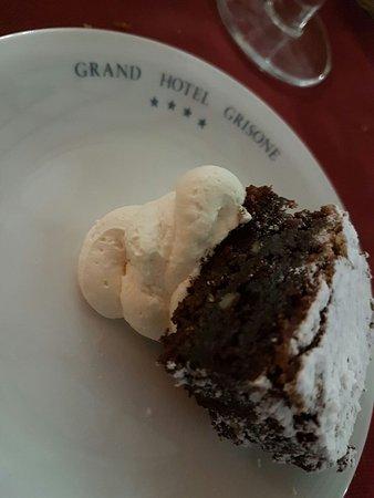 Grand Hotel Grisone: Le gustose pietanze! Tutto buonissimo