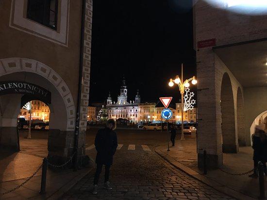 Ceske Budejovice, República Checa: Центральная площадь