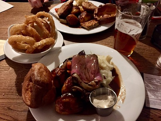 Betchworth, UK: Delicious roast beef