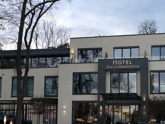 Geisenheim, Tyskland: Blick auf das Hotel