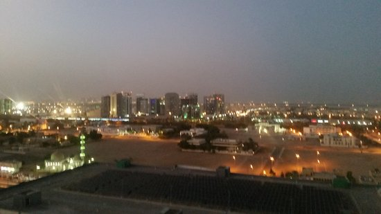 Aloft Abu Dhabi: View from roof top bar