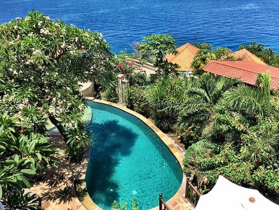Blue Moon Villas: The pool