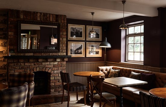 Clyst Honiton, UK: Bar Area
