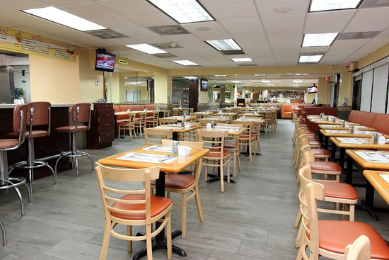 Indoor And Bar Seating Picture Of Bagel Cove Restaurant