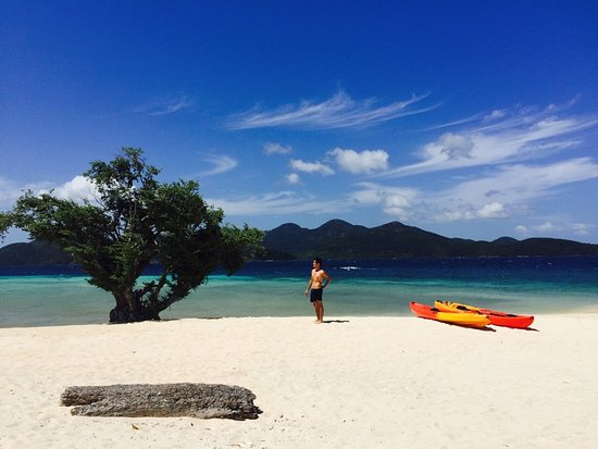 Culion, Philippines: Amazing beach to yourself