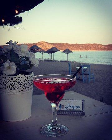 Attica, Greece: Glaros Restaurant-Beach bar
