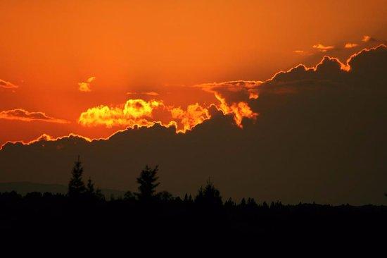 Oquossoc, ME: Sunset