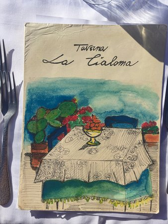 Taverna la Cialoma : menù