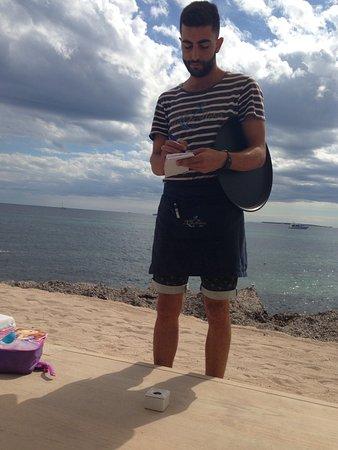 Сант-Жорди, Испания: Beautiful lunch at the beach