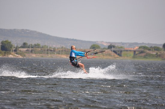 Fitou, Francia: Spot Kite Surf. Accès direct depuis le camping