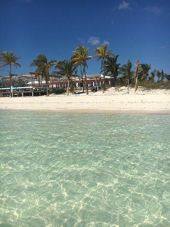Fortune beach at Banana Bay diner