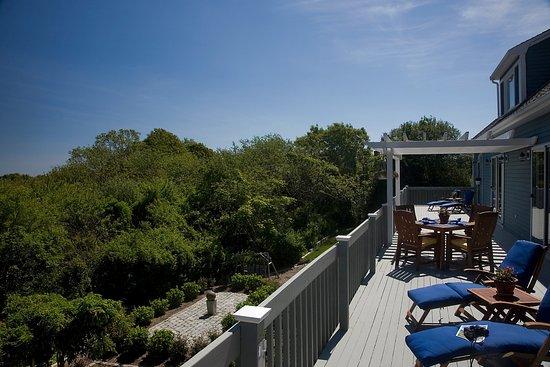 West Barnstable, Массачусетс: 75 foot sun deck