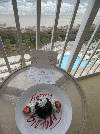 Myrtle Beach Marriott Resort & Spa at Grande Dunes : view from 15th floor room balcony