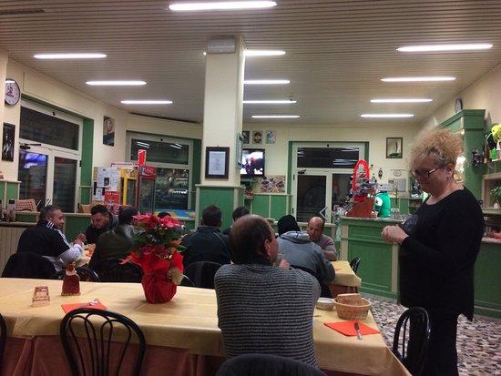 Bonassola, Italia: Inrichting van het restaurant