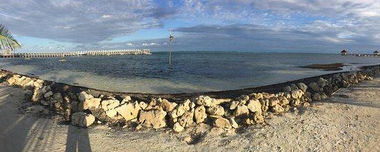 Las Terrazas Resort: View from the beach!