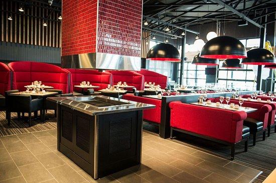 Hotel Le Navigateur: Le restaurant Pacini directement dans l'hôtel