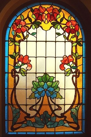Villa Godesberg: Original Jugendstilfenster