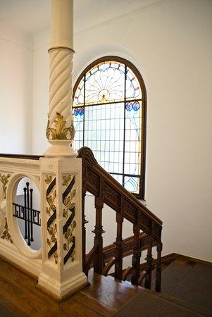 Villa Godesberg: Unser Treppenhaus