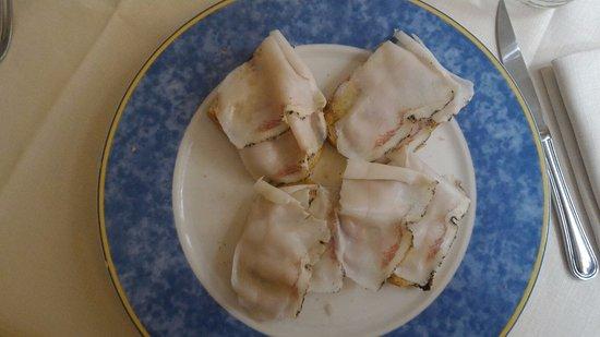 Ristorante da Lucignolo: Crostini con pancetta maiale dop