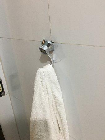 Hotel Fenice: Acessorios do banheiro, solto