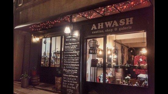 ahwash concept store marseille omd men om restauranger tripadvisor. Black Bedroom Furniture Sets. Home Design Ideas