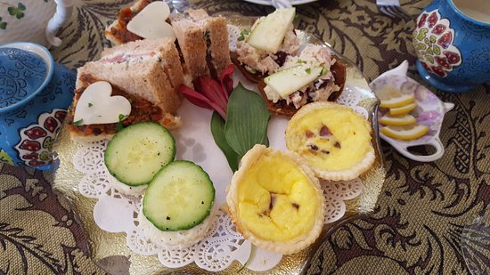 Cottage Grove, MN: high tea sandwiches