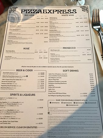 Photo6jpg Picture Of Pizza Express Belfast Tripadvisor